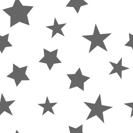 Stars seamless pattern. Star texture background.