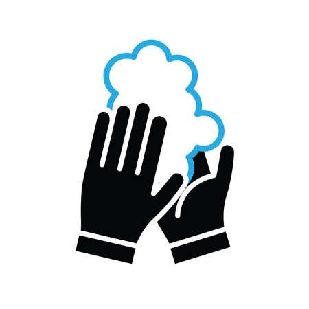 Wash your hands vector icon Standard-Bild - 143396148