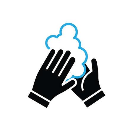 Wash your hands vector icon Standard-Bild - 143418668