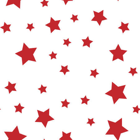 Stars seamless pattern. Backdrop texture for Christmas design. Continuous background.