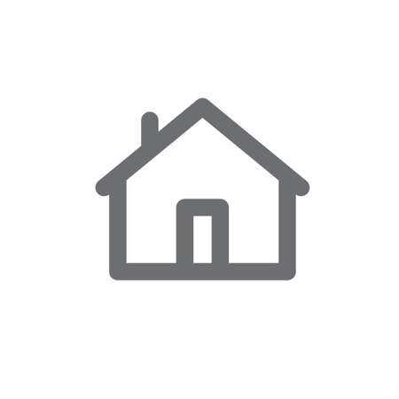 House vector icon. Home pictogram.