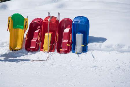 Bob colored sleds