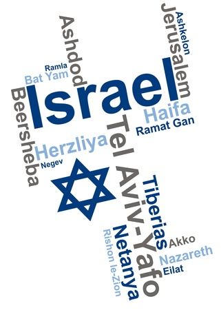 Israel Culture Stock Vector - 13133019