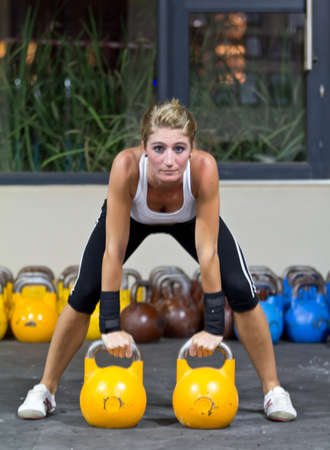 functional: Kettlebells training