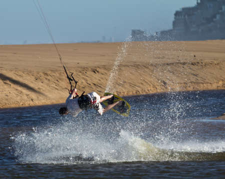 Kiteboarder Stock Photo - 13244059