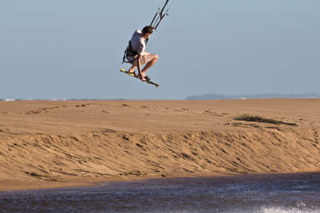 Kiteboarder Stock Photo - 13244071