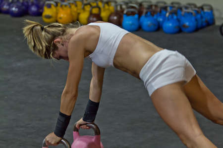 functional: Kettlebell workout