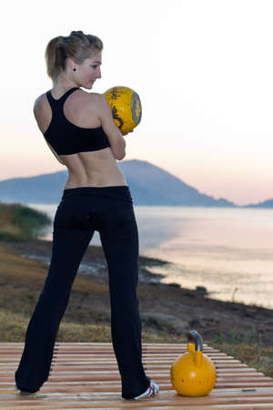 Kettlebells wellbeing photo