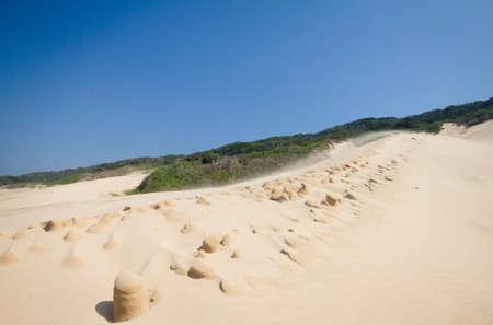 windswept: Windswept dune Stock Photo