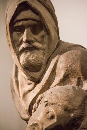 pity: statue the pity michelangelo buonarroti old