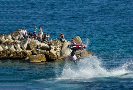 somersault: somesault and stunts raider freestyle aqua bike world championship 2015 jet ski