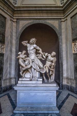 escultura romana: beautiful roman sculpture at vatica museum laocoon and his sons