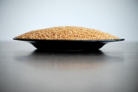 flaxseed: Flaxseed Stock Photo