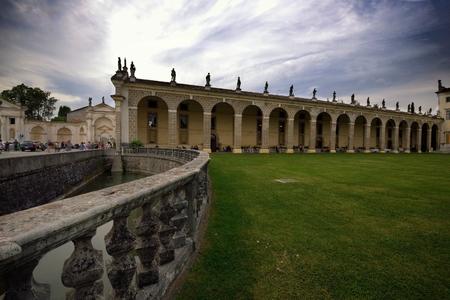 Villa Manin Passariano (UD italy Stock Photo