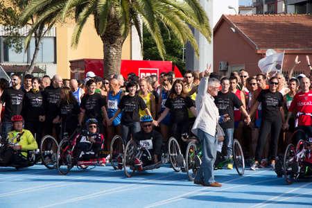 4 5: CAGLIARI, ITALY - 2012 November 4: 5 ^ Half Marathon - 4th memorial Delio Serra