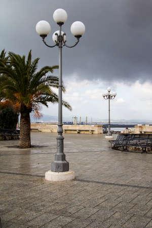 bastion: CAGLIARI Square Bastion of Saint Remy - Sardinia Stock Photo