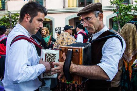 QUARTU SE, ITALY - SEPTEMBER 15, 2012: Grape Festival Escape - Sardinia Editorial