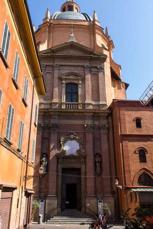 BOLOGNA, ITALY - JULY 23, 2017: the Sanctuary of Santa Maria della Vita - Emilia Romagna