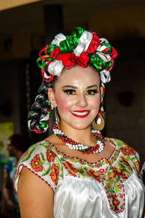 QUARTU SE, ITALY - JULY 18, 2015: 29 Sciampitta - International Folklore Festival - Sardinia