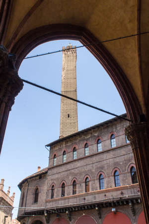 BOLOGNA, ITALY: Torre dell Asinelli - Emilia Romagna