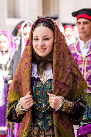 CAGLIARI, ITALY - MAY 1, 2015: 359 Religious Procession of SantEfisio - Sardinia