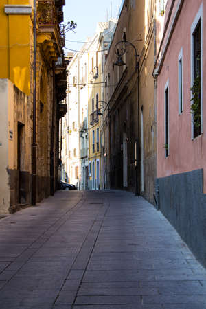 Cagliari: the alleys inside the castle district - Sardinia