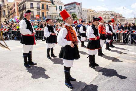 CAGLIARI, ITALY - MAY 1, 2016: 360 Festa di SantEfisio - Sardinia