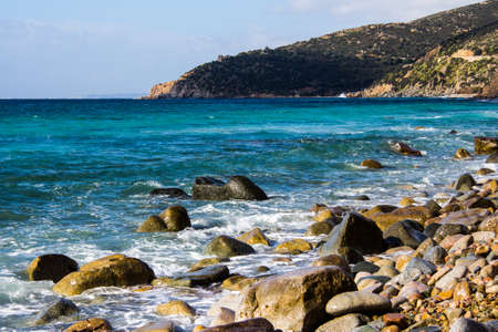 QUARTU SANT'ELENA: Beach in the south of Sardinia - Mare pintau