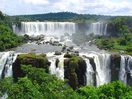 Iguazu waterfalls Stock Photo - 4903365