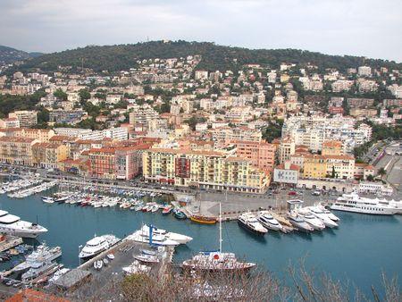 Nice harbor, France photo