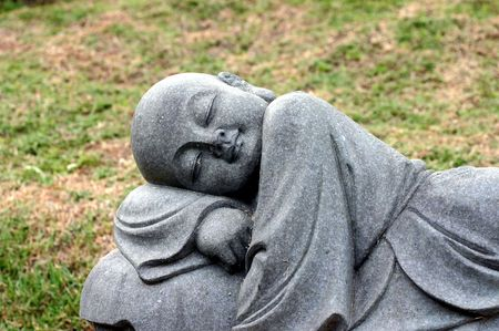 Monk sleeping