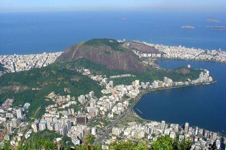 Aerial view of Rio de Janeiro, Brazil  photo
