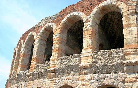 Roman amphitheatre arena in Verona, Italy Stock Photo - 9672190