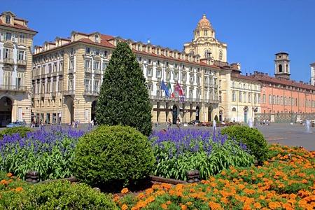 bronz: Piazza Castello, Torino, Italy