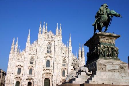 Stock Photo: Piazza Duomo, Milan, Italy photo