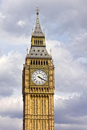 The famous Big Ben, London photo