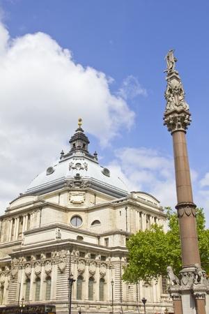 great hall: Methodist Central Hall, London, England