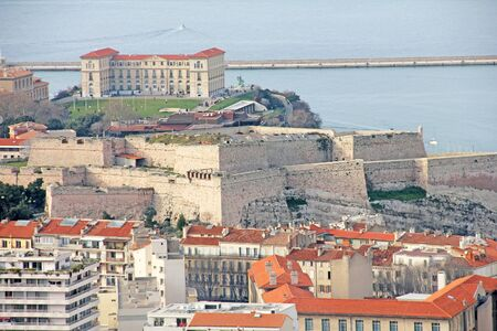 Fort in Marseilles, France photo