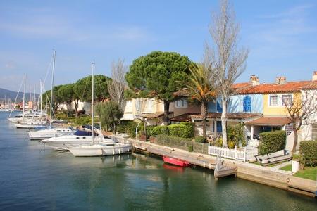 Port Grimaud, near Saint Tropez, south of France photo