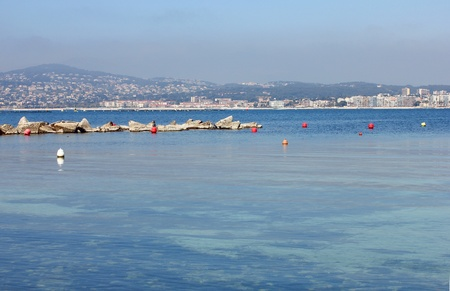 Blue sea in the south of France Stock Photo - 11572099
