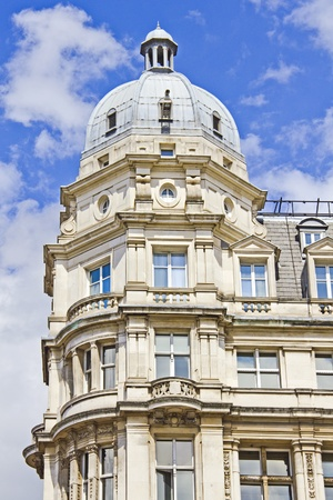 stereotypically: Typical building in London, UK