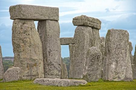 prehistory: The Stonehenge in England, UK