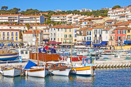 Port of Cassis, south of France photo