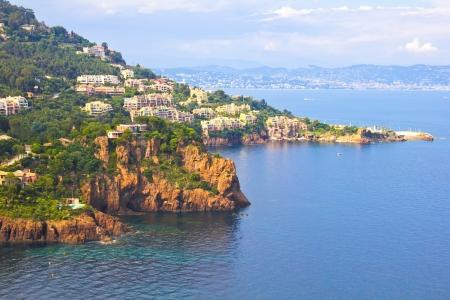 Mandelieu-La Napoule, France 免版税图像