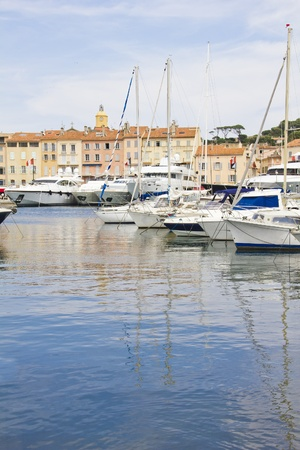 Port of Saint-Tropez, France photo