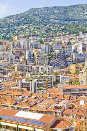 Buildings in Monte Carlo, Monaco photo