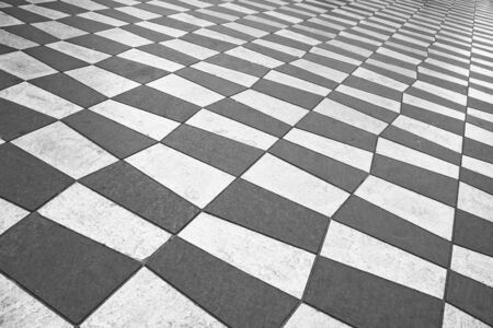 Black and white pavement photo