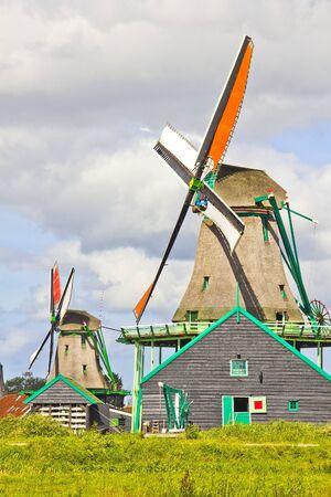 holland landscape: Dutch windmills Editorial
