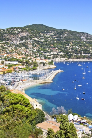 seafronts: Saint Jean Cap Ferrat, south of France Stock Photo