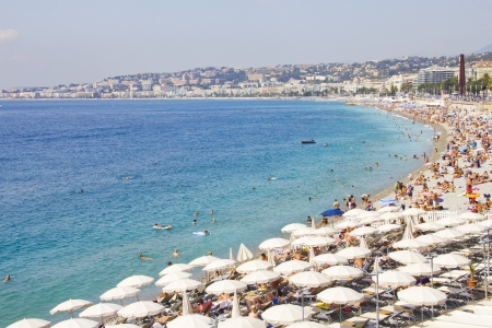 cote: View of Nice, French Riviera